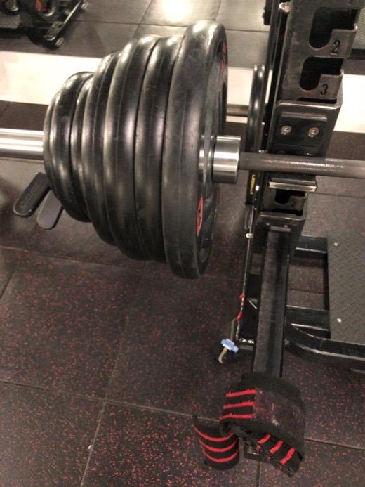 ベンチプレス165kg